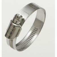 Wholesale Galvanised / AISI 316 Stainless Steel Fasteners 9 - 12mm Width German Hose Clamp / Clip from china suppliers