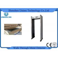Quality Multiple Zones Pass Through Metal Detector with Network Function to Prison Airport for sale