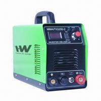 Quality TIG MMA 200 Welding Machine with Inverter DC IGBT Tech, to Weld 0.5 to 10mm Thickness Steel Plate for sale