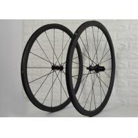Wholesale 18 / 21 Holes 35mm Carbon Clincher Wheelset 600.4g Front Wheel Weight from china suppliers