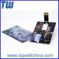 Wholesale ABS Swivel Credit Card 32GB Pen Drives Pocket Carry with Name Cards from china suppliers