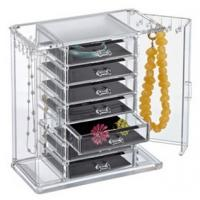 Wholesale clear acrylic cosmetic makeup organizer drawer for storage from china suppliers
