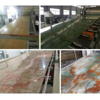 Wholesale Compact PVC / Marble / Plastic Board Extrusion Machine High Performance from china suppliers