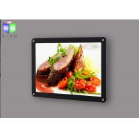 Wholesale Edge Lit Slim Magnetic Light Box Display Menu Fast Food Signboard For Restaurant from china suppliers