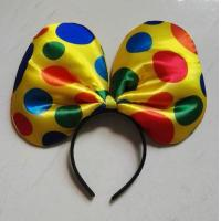Wholesale Clown Halloween Party Headband Children Party Minnie Mouse Ears Baby Hair Accessories kid birthday Girl Headwear from china suppliers