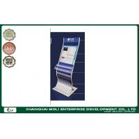 Wholesale Customized retail store magazine newspaper rack and postcard rack display printed logo from china suppliers