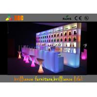 Wholesale Hotel / Restaurant Plastic LED Bar Tables / Counter For Hotels from china suppliers