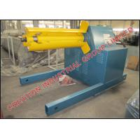 Wholesale 5 Ton Electrical Decoiler Roll Forming Machine Parts 3 x 1.5 x 1.5 Meters from china suppliers