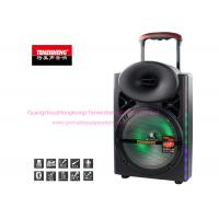 Quality Indoor Portable Amplifier Speaker 12 Inch Full Range with LED Light for sale