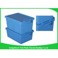 Wholesale 100% New Pp Plastic Attached Lid Containers Moving Storage Light Weight from china suppliers