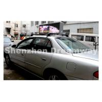 Wholesale 192 by 64 pixels Each Side Taxi LED Display of 5 mm SMD3528 LED 3,800 nits from china suppliers