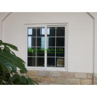 Wholesale UPVC Sliding Window With Grilled For Residential Home,White Color Vinyl Sliding windows from china suppliers