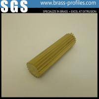 Wholesale C38500 Alloy Copper Round Rod With Gear / Brass Gearing Rod from china suppliers