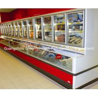 Wholesale Glass Door Combination Freezer  , Commercial Display Energy Efficiency Cooler from china suppliers