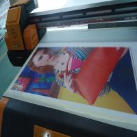 Wholesale Full automatic flatbed uv printer machine with e pson DX5 printhead from china suppliers