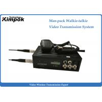 Wholesale 10 Watt Manpack COFDM Transmitter H.264 Video And Walkie - Talkie Transmission System from china suppliers
