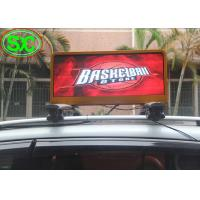 Wholesale P6mm Full Color LED Car LED Sign Display with 4G Control CE ROHS Certificate from china suppliers