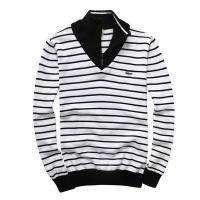 Wholesale Lacoste men stripe sweaters with high quality wholesale price from china suppliers