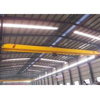 Wholesale 5~20 T Single Girder Overhead Crane With Eleltric Hoist , Industrial Bridge Cranes from china suppliers