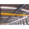 Buy cheap 5~20 T Single Girder Overhead Crane With Eleltric Hoist , Industrial Bridge Cranes from wholesalers