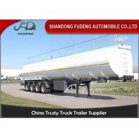Wholesale Four Axles Fuel Tanker Semi Trailer 55000 Liters carbon steel material from china suppliers