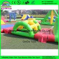Wholesale inflatable floating water park, inflatable water amusement park for adults from china suppliers