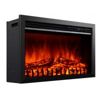 "Wholesale Electric Fireplace Heater EF462 insert Fireboxs 29"" Stoves log burning Flame with mantel from china suppliers"