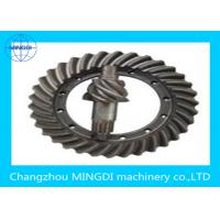 Wholesale Sandblasting Crown Wheel Gear Precision 1- 9 Stage / Crownwheel And Pinion from china suppliers