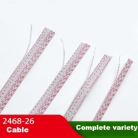 Wholesale Electrical Cable Bare Copper Wire 12P 10P 8P 6P UL2468 0.45mm Thickness Flat from china suppliers