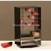 Wholesale Makeup Shop Acrylic Cosmetic Display Stand , Rotating 2-Way Lipstick Display Rack from china suppliers