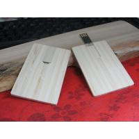 Buy cheap 2G, 4G, 8G eco friendly wooden card usb flash drive with screen/laser logo (MY-UCW01) from wholesalers