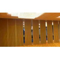 China Sound Insulation Movable Track Folding Sliding Partition Wall Easy Operated on sale
