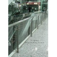 Quality Stainless Steel Glass Balustrade for sale