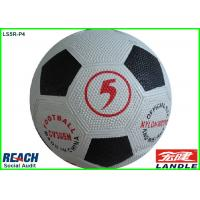 Wholesale Awesome Classic Black And White Soccer Ball With Nylon Winded Bladder from china suppliers