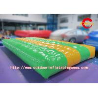 Wholesale 0.55mm PVC Inflatable Air Track Mat , Outdoor Inflatable Air Tumble Track from china suppliers
