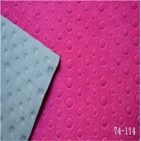Wholesale plate voltage GP velveteen for shoe upper from china suppliers