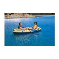 Wholesale Two Adults Ferry Barge Rubber Dinghy , Heavy Duty Inflatable Boat from china suppliers