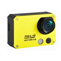 Wholesale Custom 60m Waterproof Full HD 60fps 1080P Action Camera / Wifi Sports Cameras 12MP from china suppliers