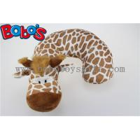 Wholesale Plush Stuffed Giraffe Neck Support Soft Children Neck Pillow from china suppliers