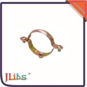 Wholesale Tube Repair Clamp Fastener Metal Pipe Hangers , Metal Clamping Brackets from china suppliers