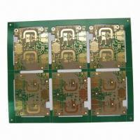 Wholesale High-frequency Two-layer PCB Board for Communication Device with Teflon RF35 Material from china suppliers