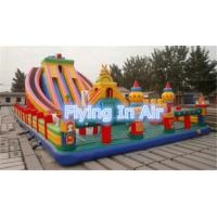 12*6m PVC Large Outdoor Inflatable Slide Castle For Children