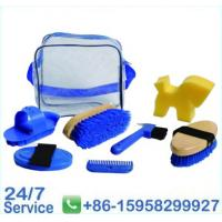 Wholesale Blue 7 Pieces Horse Clean Set horse Grooming Equipment  BN5045 from china suppliers
