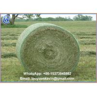 Wholesale Hot Selling 100% HDPE 8.5gsm 1.22 x 3600m Straw hay bale net wrap with high quality from china suppliers