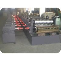 Wholesale 18 Stations Steel Silo Panel Roll Forming Machine 55Kw Hydraulic Power Customized PLC from china suppliers