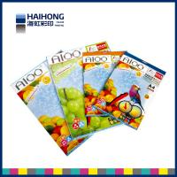 Wholesale Customized art paper advertising menu / leaflet / flyer / brochure / catalog /  flyer printing from china suppliers