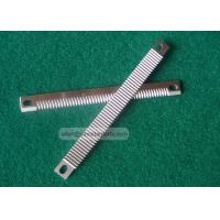 Wholesale food industry pillow packing machine serrated straight bag cutting blade for candy from china suppliers