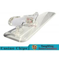 Wholesale Poker Playing Cards Dedicated Brand Shovel Acrylic Plastic Factory New Custom Shape from china suppliers