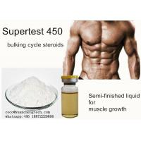 Wholesale Supertest 450 Blend Liquid Injectable Anabolic Steroids Premade yellow liquid For Muscle Growth from china suppliers