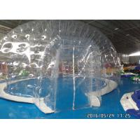 Wholesale Commercial Transparent Clear Bubble Tent Outdoor Inflatable Camping Tent With Rooms from china suppliers